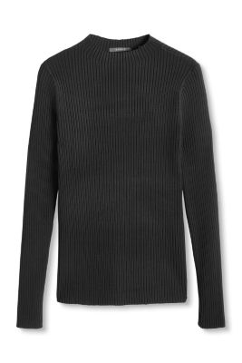 Esprit / High-performance ribbed jumper