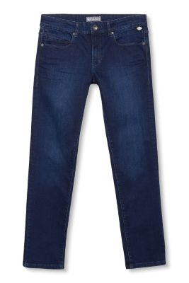 Esprit / Five-pocket dark stretch denim jeans