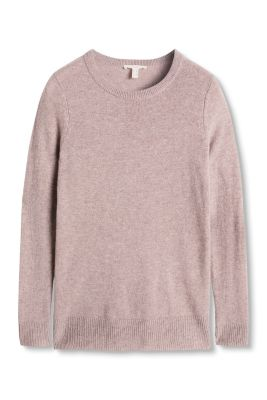Esprit / Fine-knit cashmere sweater