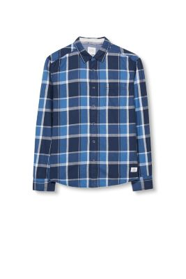 Esprit / Soft check shirt, 100% cotton