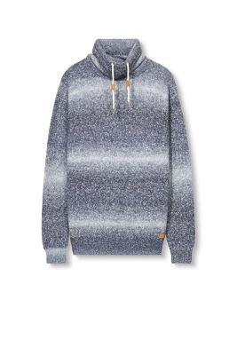 Esprit / Trend jumper with a drawstring collar