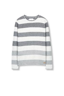 Esprit / Striped jumper, 100% Cotton