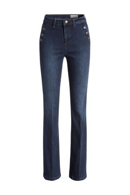 Esprit / High-Waist-Denim im Bootcut-Stil