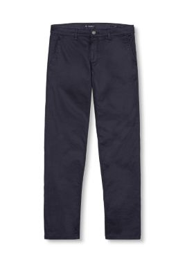 Esprit / Chinos in dark stretch denim