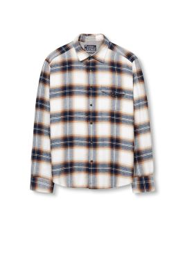 Esprit / Check flannel shirt, 100% cotton