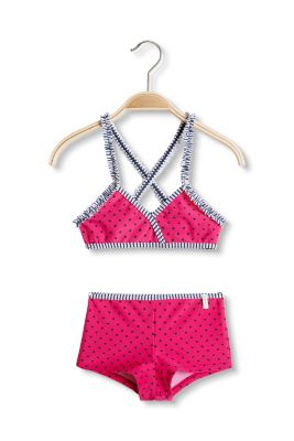 Esprit / heart stripe bikini set