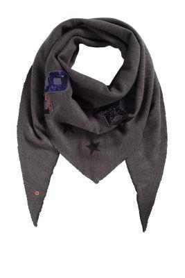 Esprit / Dreieckiger Schal mit Pailletten