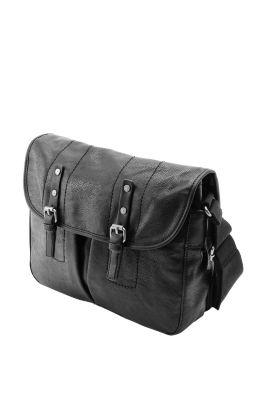 Esprit / Kleine Messenger Tasche in Lederoptik