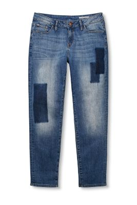 Esprit / Stretchige Jeans im Patch-Look