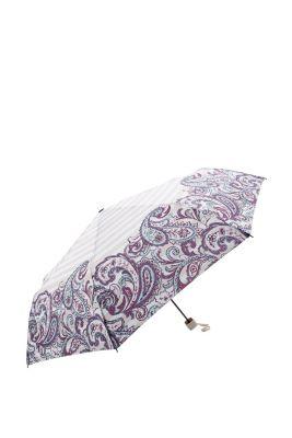 Esprit / Regenschirm mit Paisleymuster