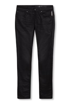 Esprit / Coated stretch jeans