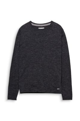 Esprit / Basic-pullover, 100% bomuld