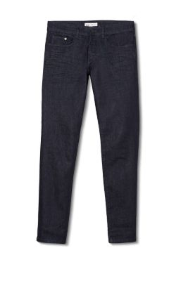 Esprit / Stretchjeans met donkere rinse-wassing