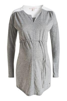 Esprit / Jersey-Stoff-Tunika im Melange-Look