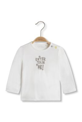 Esprit / Statement long sleeve top in organic cotton