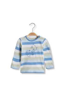 Esprit / Striped long sleeve top in organic cotton