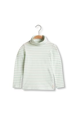 Esprit / Long sleeve polo neck in organic cotton
