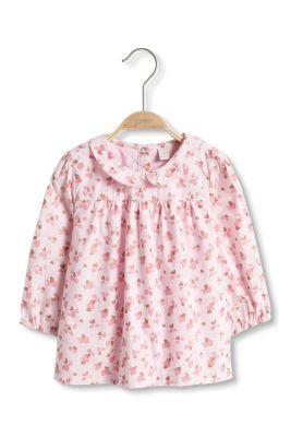 Esprit / Glitter-Print Bluse, 100% Baumwolle