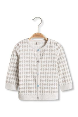 Esprit / Soft jersey cardigan, organic cotton