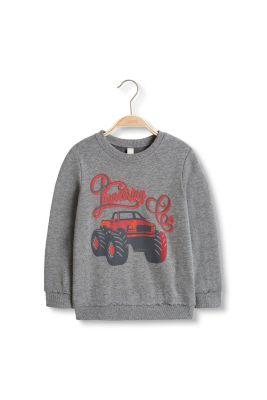 Esprit / Baumwoll-Mix Sweatshirt mit Monstertruck