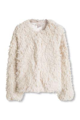 Esprit / Jacke aus super flauschigem Fake Fur
