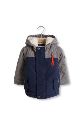 Esprit / Padded thermal jacket with teddy lining