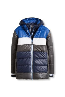 Esprit / Padded jacket with double zip