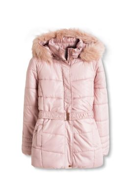 Esprit / Padded thermal jacket with fake fur