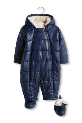 Esprit / Padded thermal snowsuit with fleece lining
