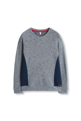 Esprit / Colorblock Sweatshirt in Strickoptik