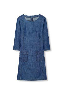 Esprit / Jeansklänning i bomull/lyocell