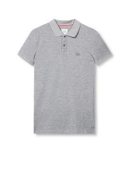 EDC / Basic piqué polo shirt, 100% cotton