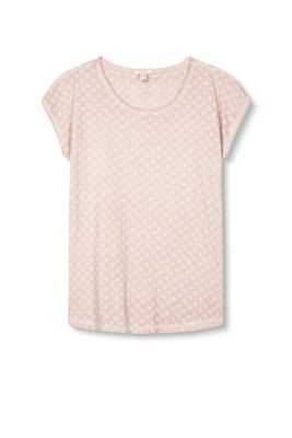 Esprit / Washed print T-shirt, 100% cotton