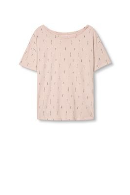 EDC / Boxy T-shirt met print all-over