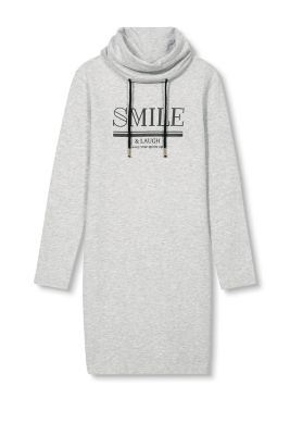 EDC / Sweatshirt-Kleid mit Statement-Print