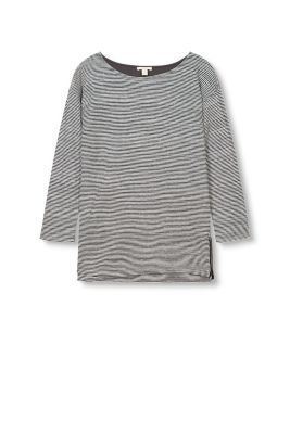 Esprit / Soft striped double-faced jersey top