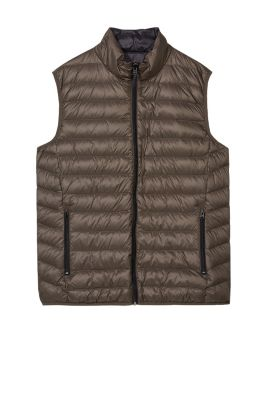 Esprit / Light down/feather reversible body warmer