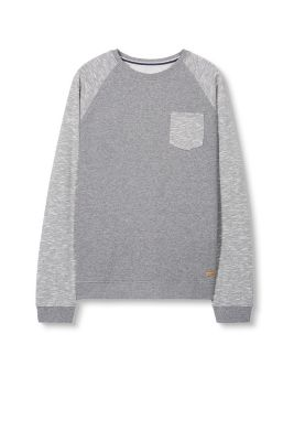 EDC / Two-tone blended cotton sweatshirt