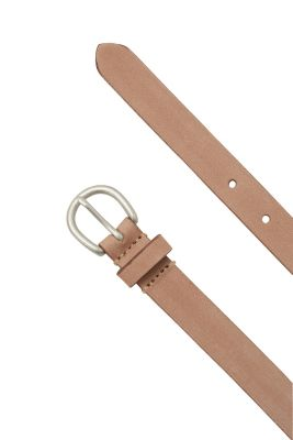 Esprit / Narrow basic belt, 100% leather