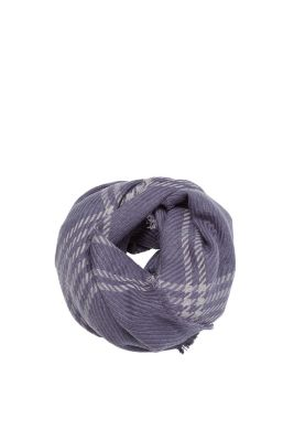 EDC / Cosy woven scarf in a wool look