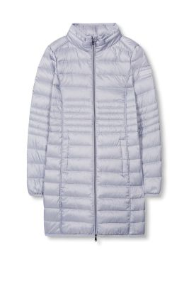 Esprit / Lightweight down coat in a fitted design