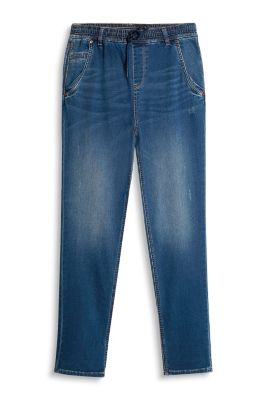 Esprit / Soft vintage jeans + elasticated waistband
