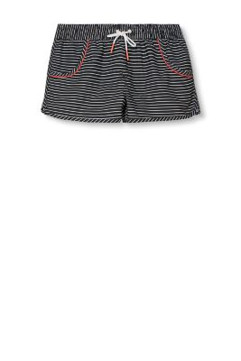Esprit / Woven shorts with nautical stripes