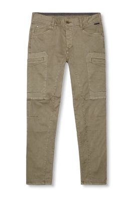 EDC / Stretch cotton cargo trousers