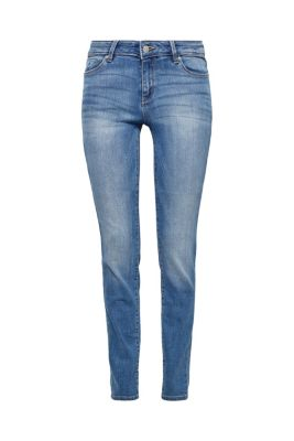 Esprit / Smalle stretchjeans met basic look