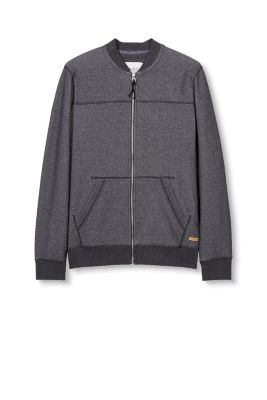 EDC / Bomber style zip-up sweat jacket