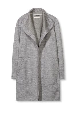 Esprit / Ready-to-wear wool mix knit coat