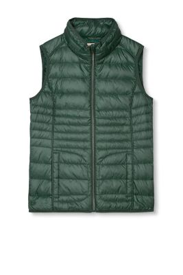 Esprit / Lightweight, fitted down body warmer