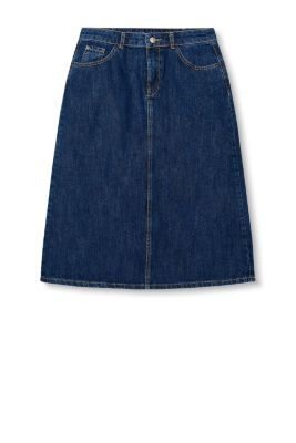 esprit denim skirt in 100 cotton at our shop