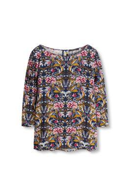 Esprit blouse fleurs en viscose fluide acheter sur for Acheter fleurs en ligne
